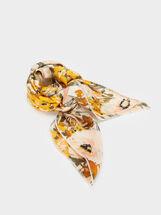 Foulard Fascia Con Stampa Floreale, Multicolore, hi-res