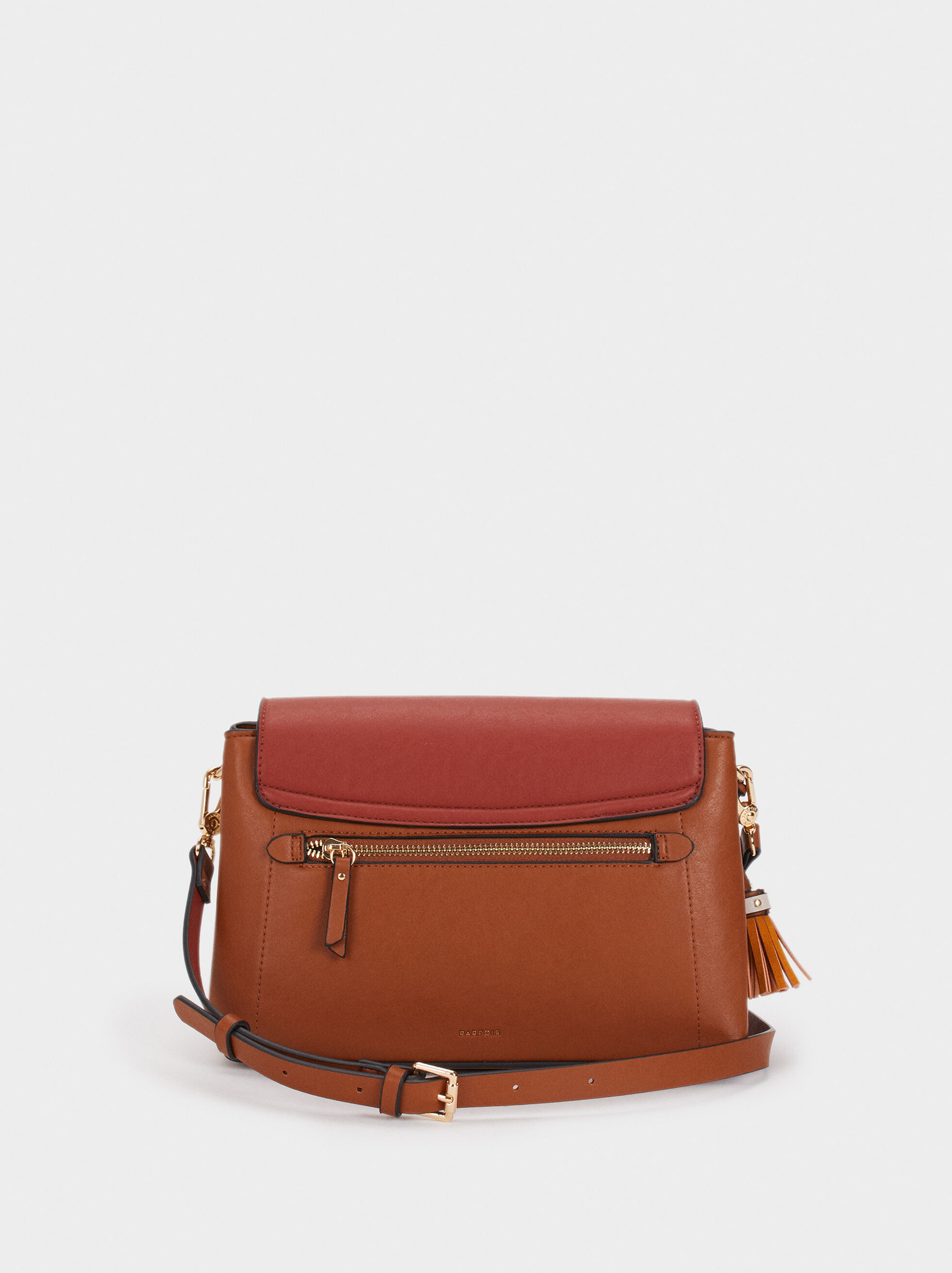 Elisa Cross Bag, Brick Red, hi-res