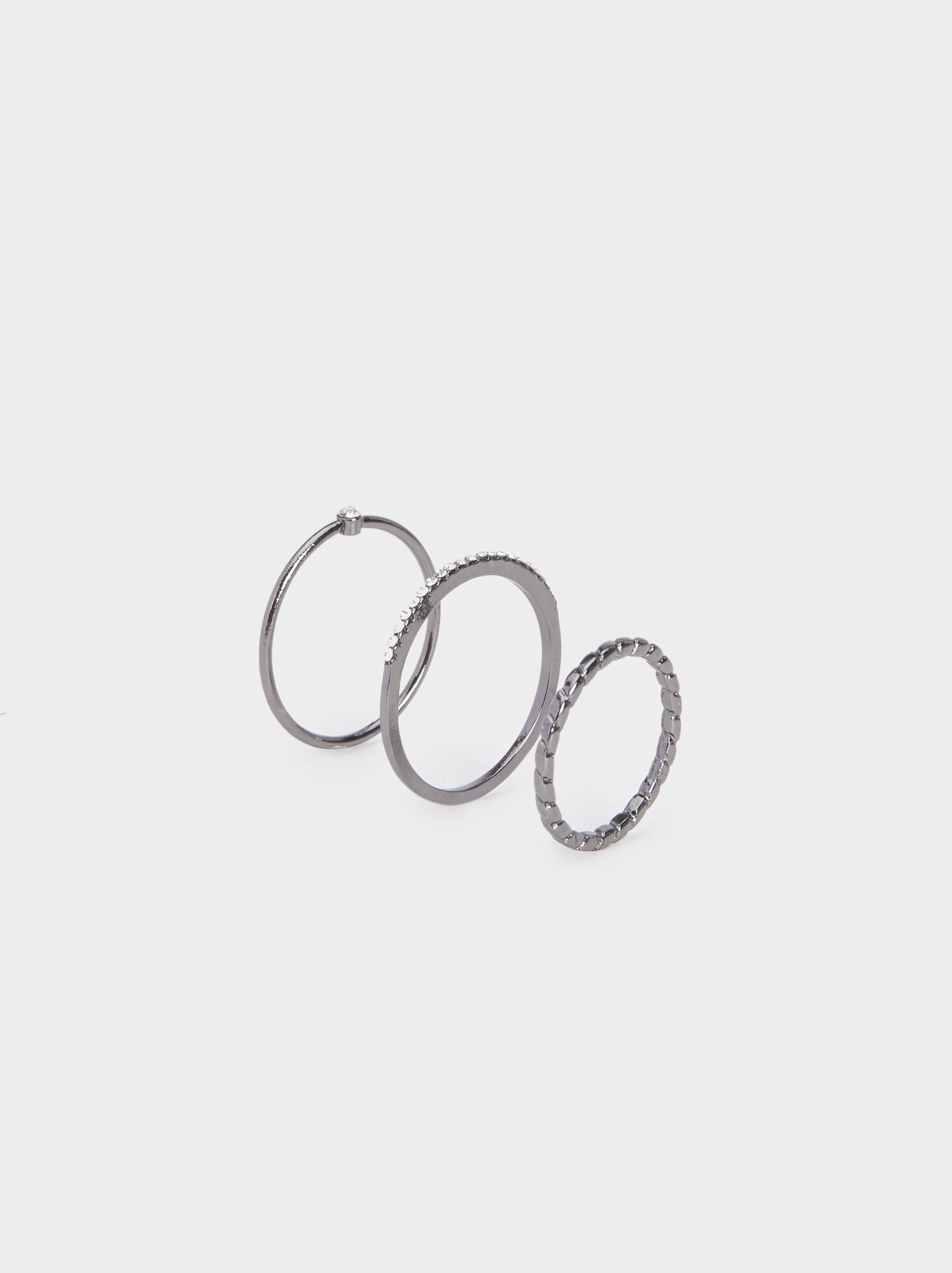 Set Of Botanic Party Rings, , hi-res