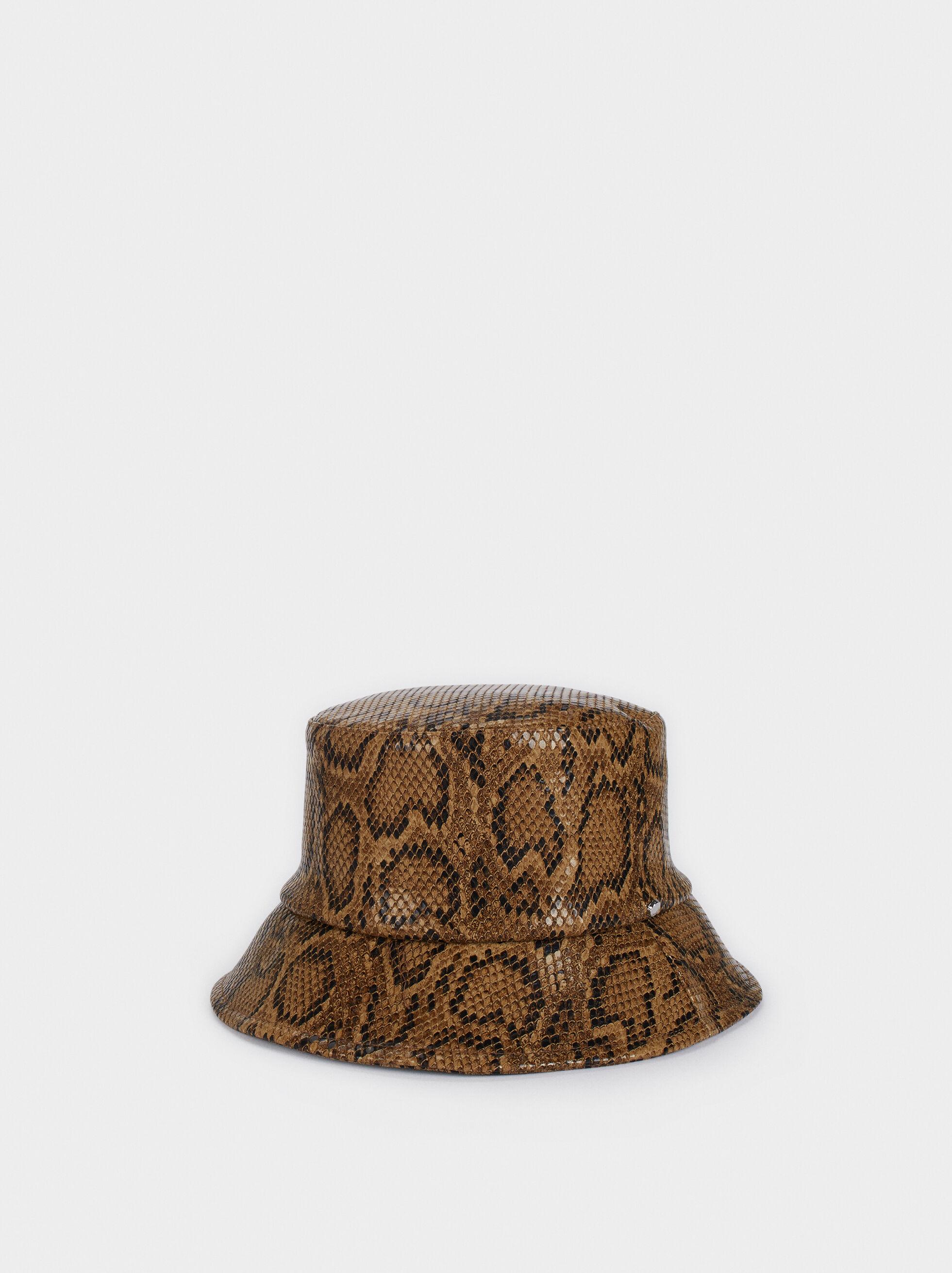 Sombrero Estampado Animal, Multicor, hi-res