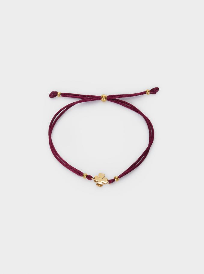 Bracelet Ajustable En Acier, Gris, hi-res