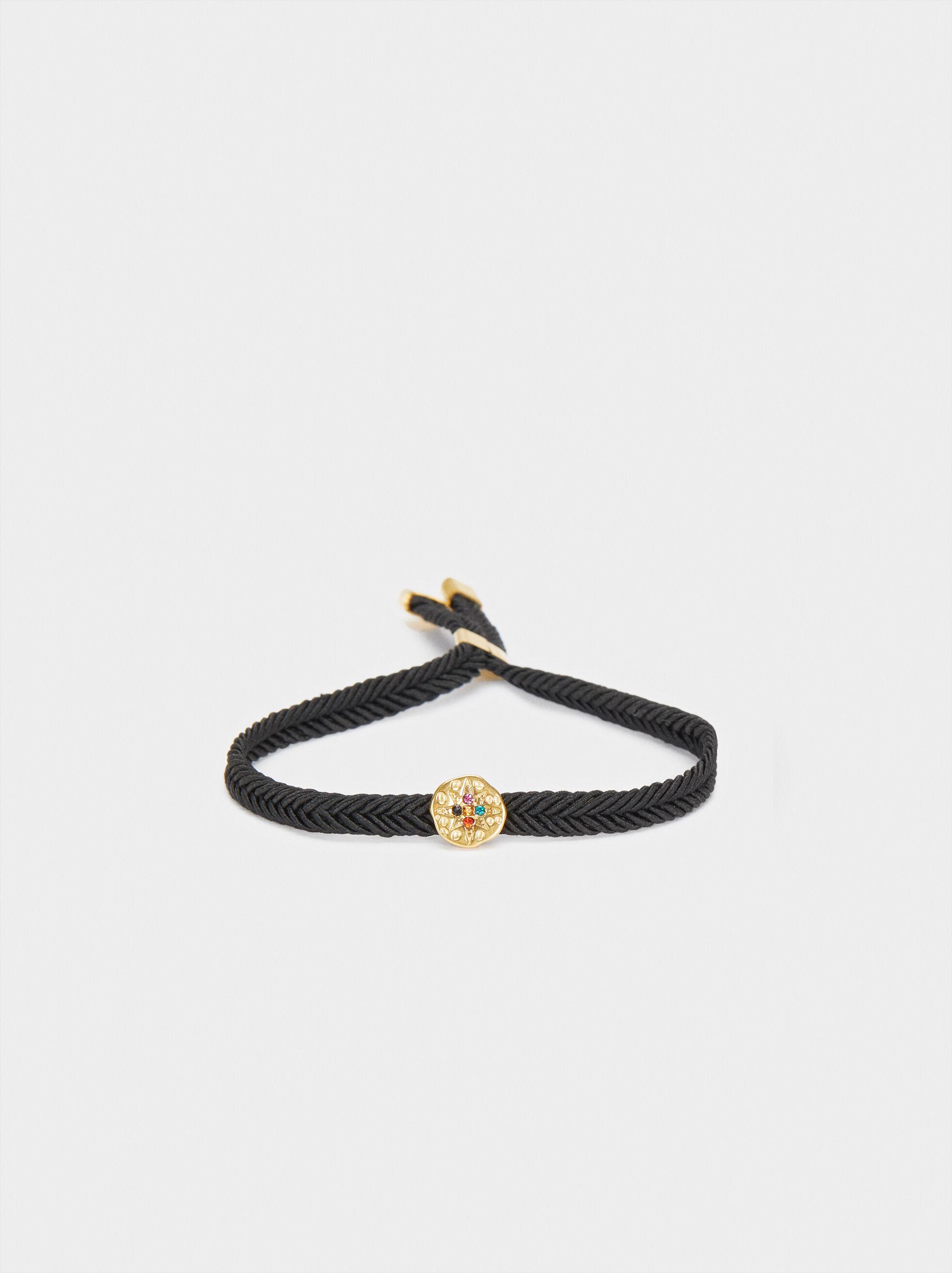 Adjustable Chain Bracelet With Star Detail, , hi-res
