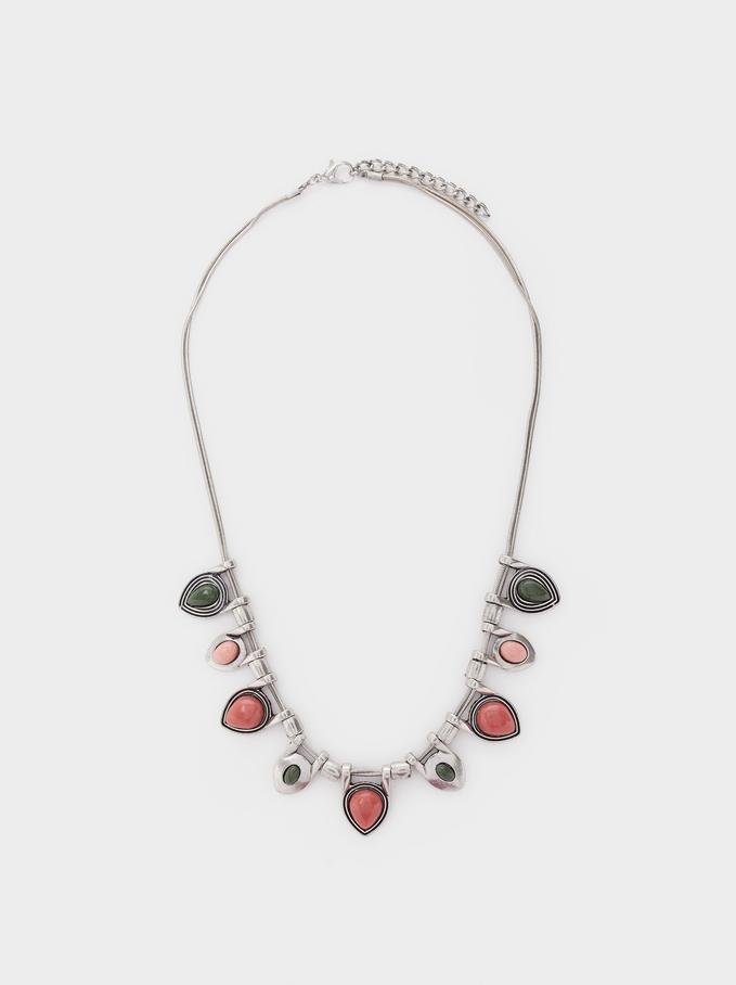 Star Valley Short Bead Necklace, Multicolor, hi-res