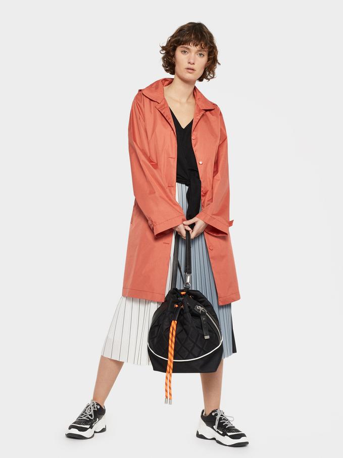 Bucket Bag With Crossbody Strap, Black, hi-res