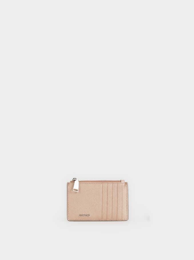 Basic Cardholder, Orange, hi-res