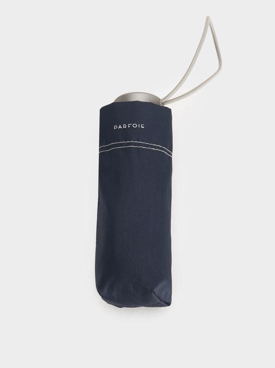 Compact Plain Umbrella, Navy, hi-res
