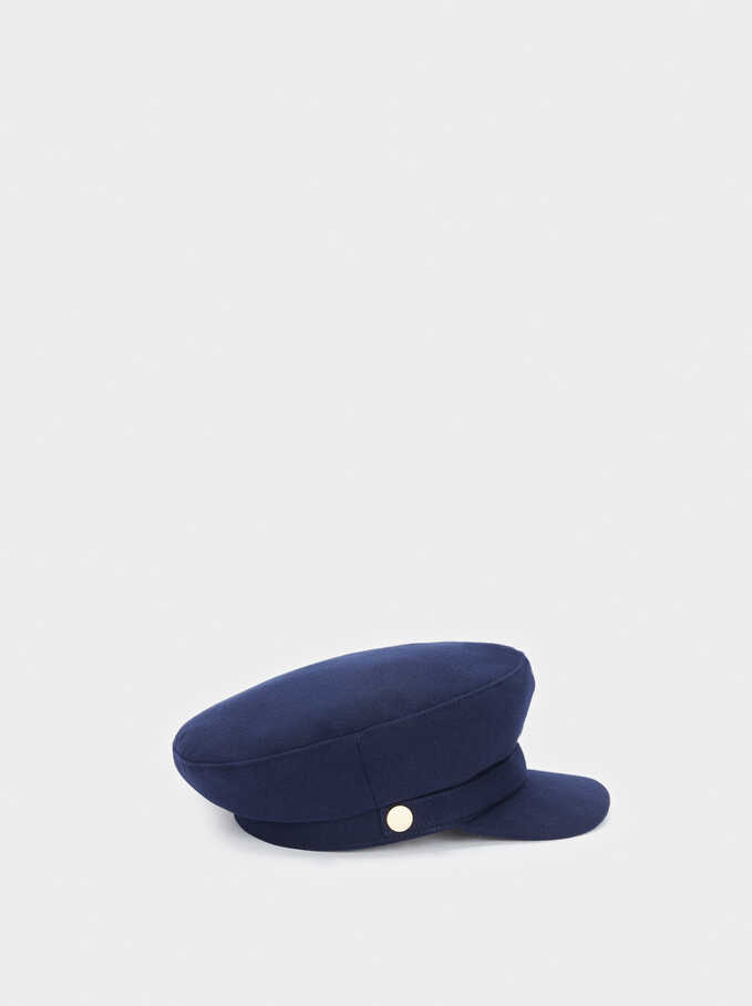 Casquette De Marin, Bleu Foncé, hi-res