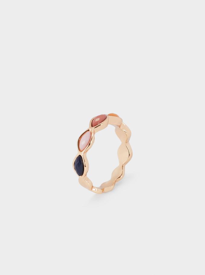 Irregular Metallic Ring, , hi-res