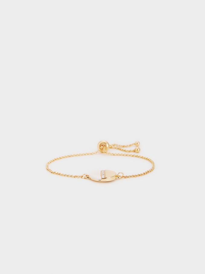 Golden Delicates Bracelet, Golden, hi-res