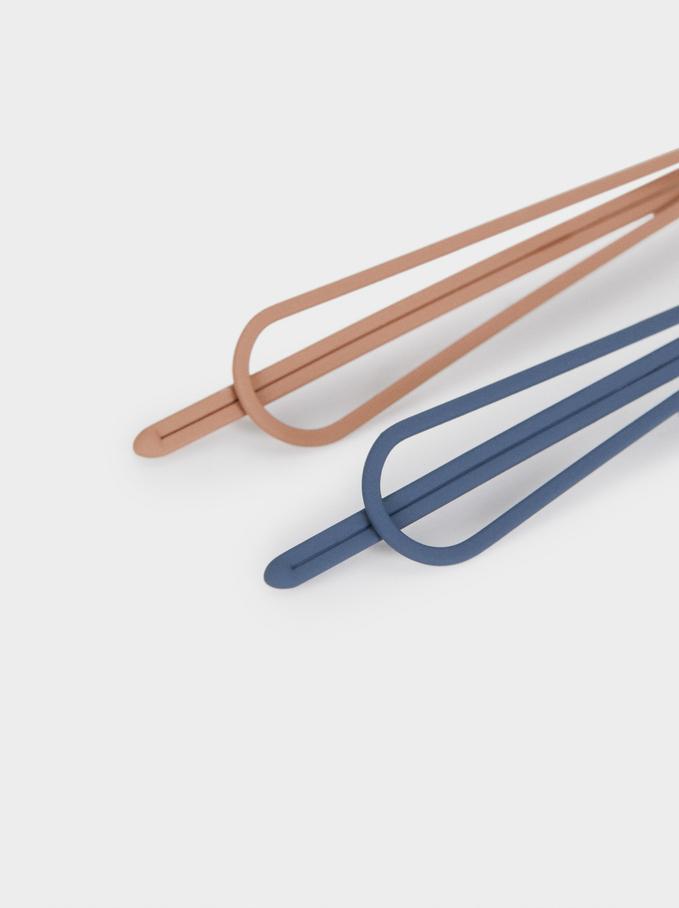 Set Of Hairpins, Multicolor, hi-res