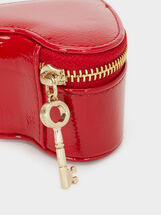 We Are Love Patent Finish Multi-Purpose Purse, Red, hi-res