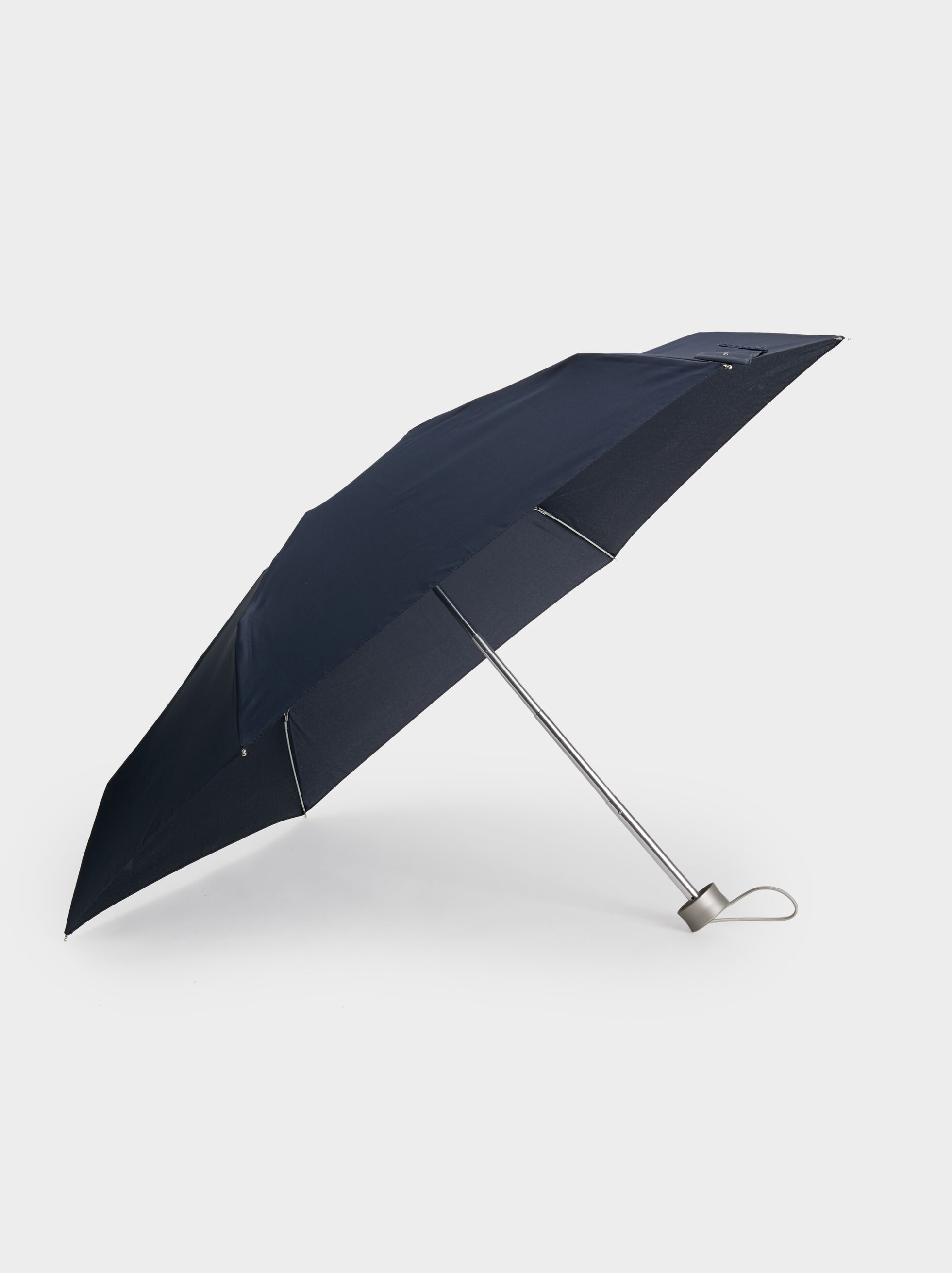 Compact Plain Umbrella, Navy, hi-res