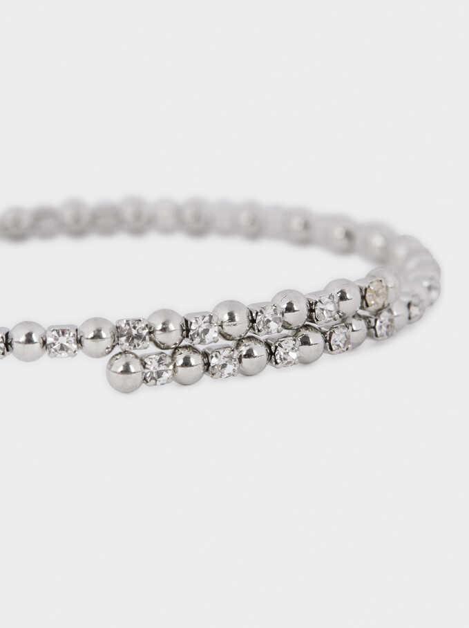 Adjustable Bracelet , Silver, hi-res