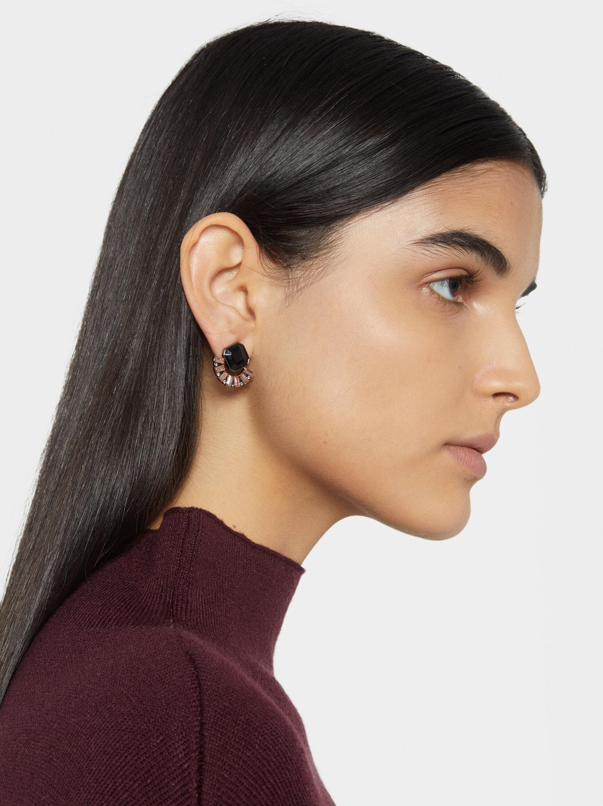 Star Dust Earrings, Multicolor, hi-res
