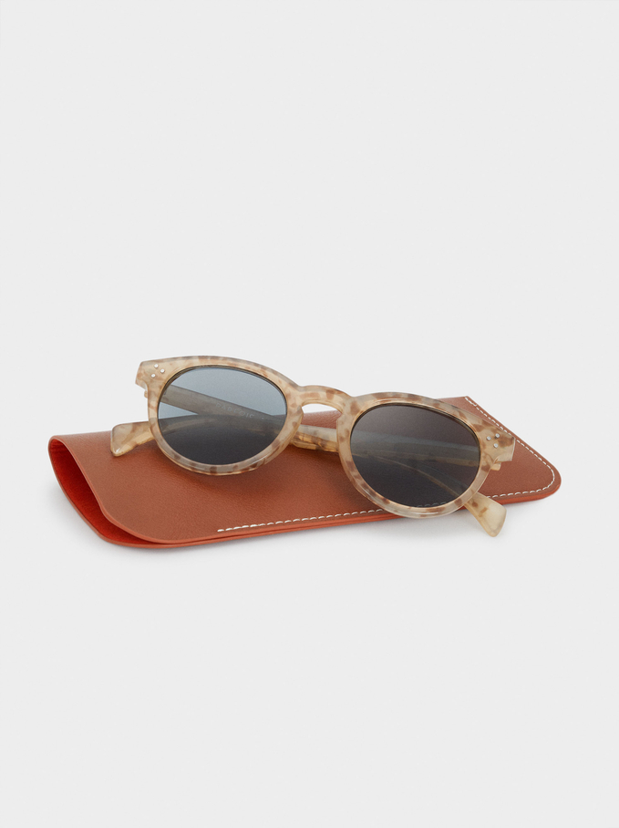 Graduated Sunglasses, Beige, hi-res