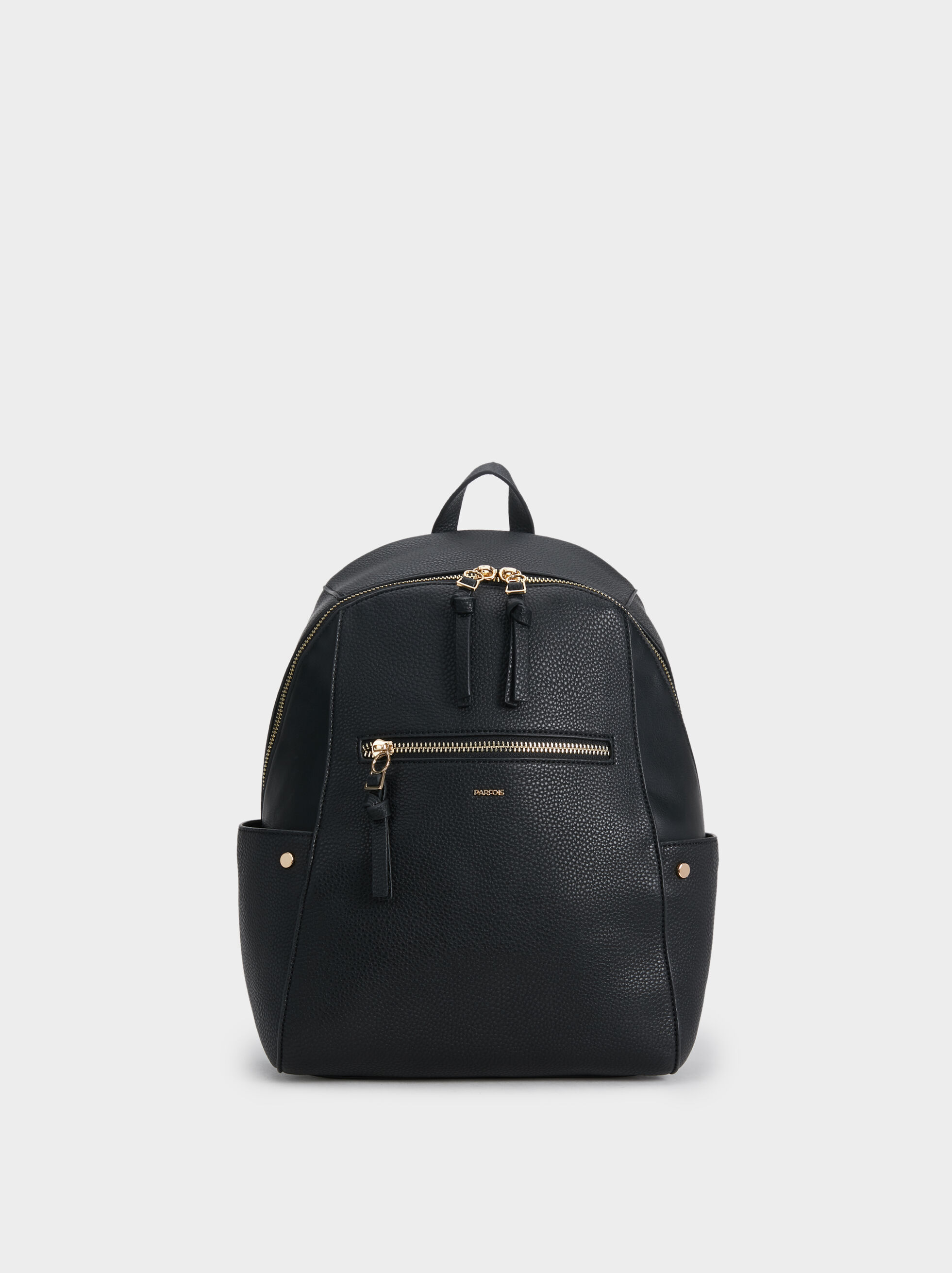 Faux Leather Backpack, , hi-res