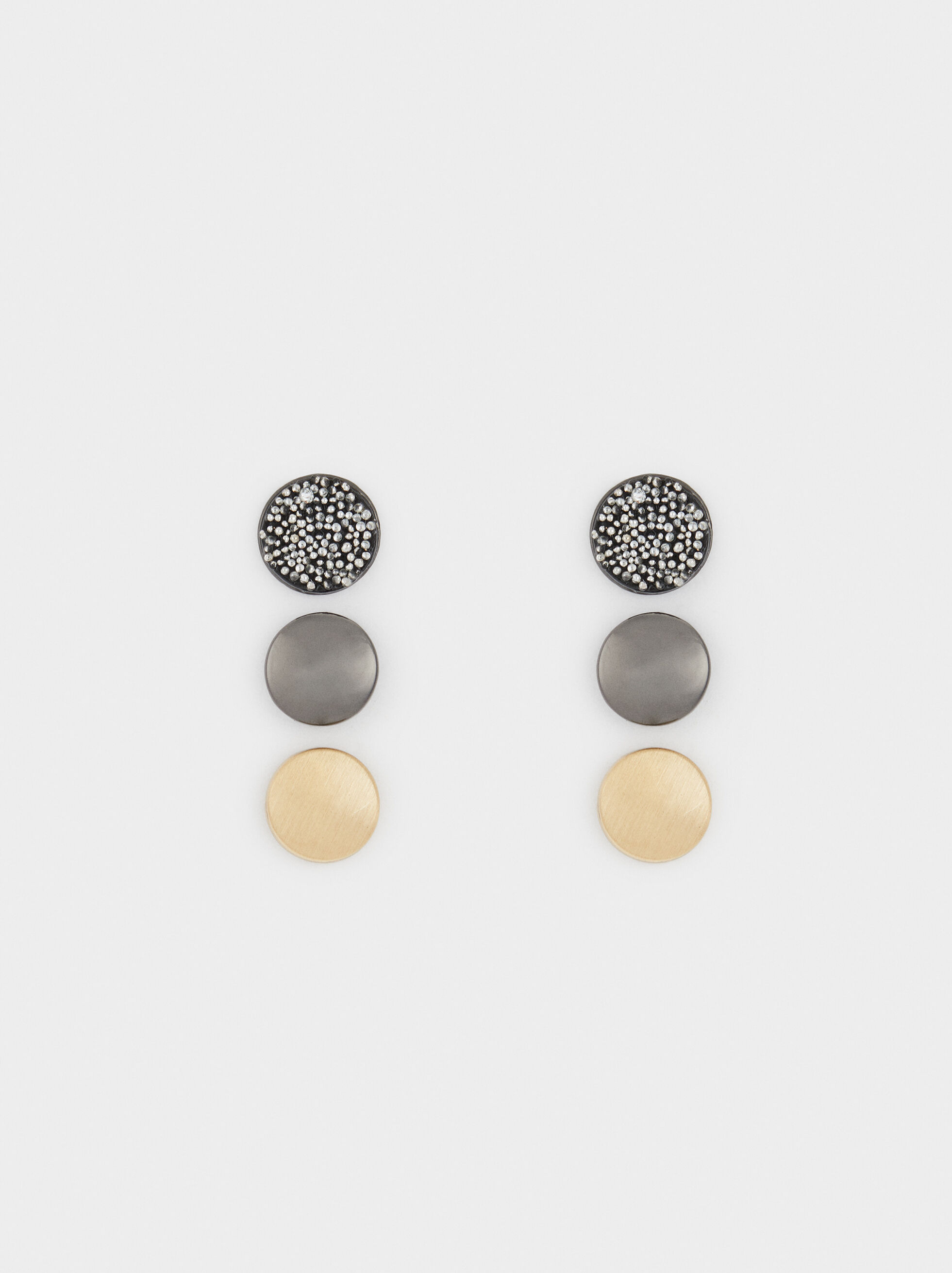 Basic Earring Set, , hi-res