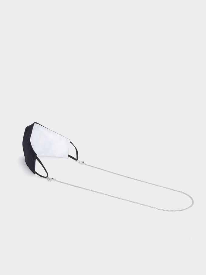 Fita Para Máscara E Óculos, Prateado, hi-res