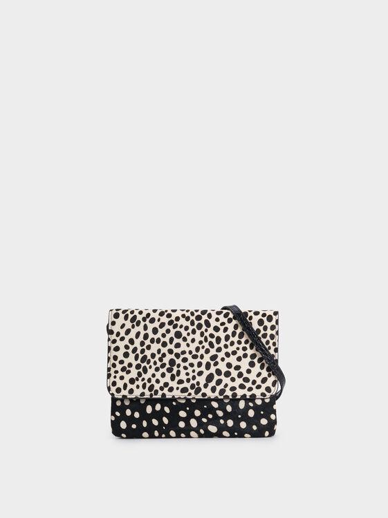 Printed Multi-Purpose Bag, Black, hi-res