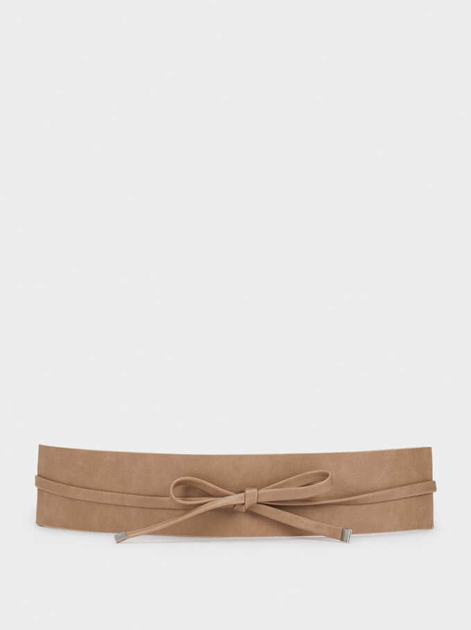Basic Belt, Beige, hi-res