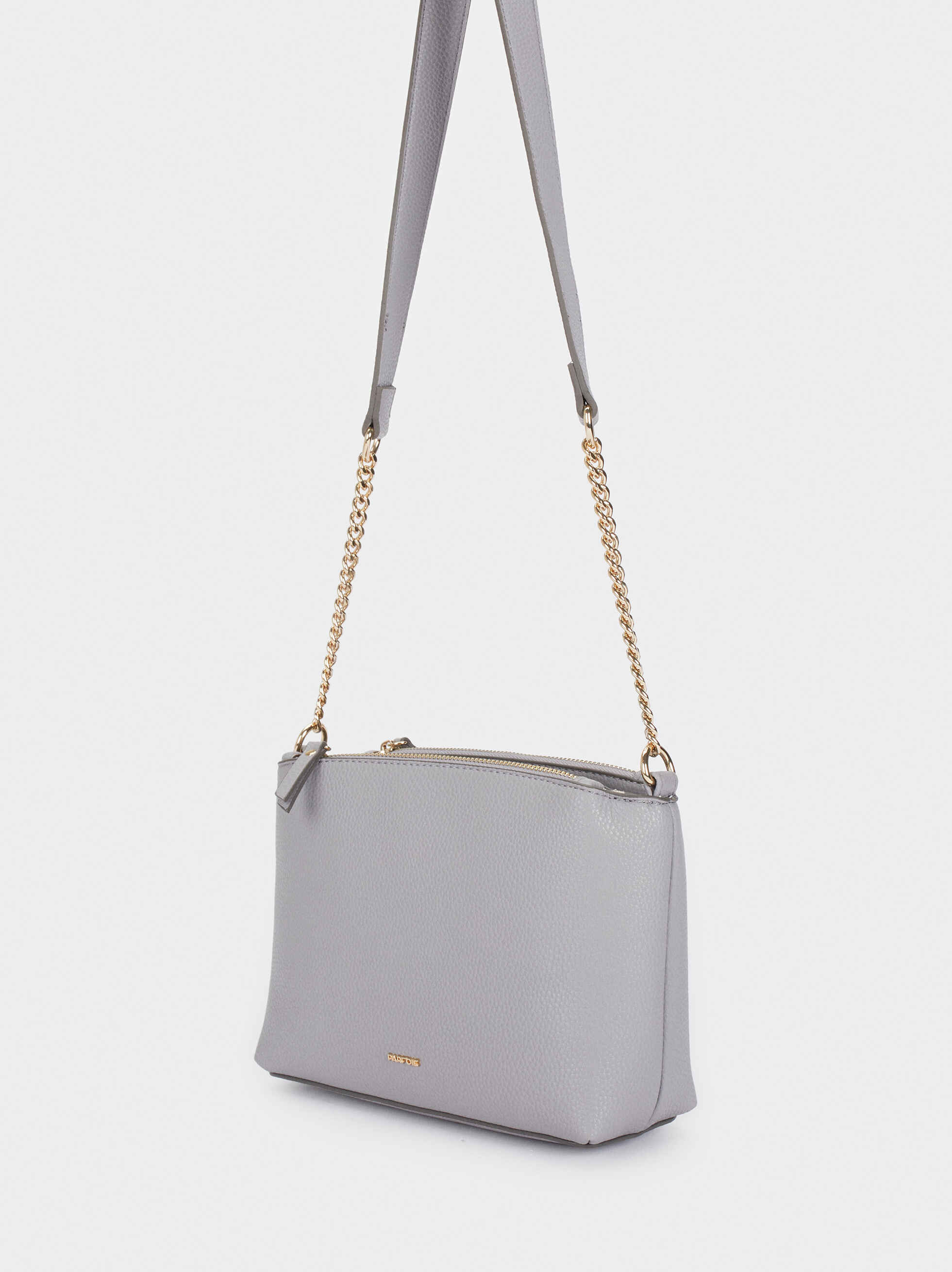 Crossbody Bag With Zip Fastening, Violet, hi-res