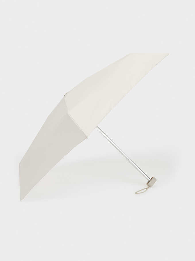 Small Plain Umbrella, Grey, hi-res