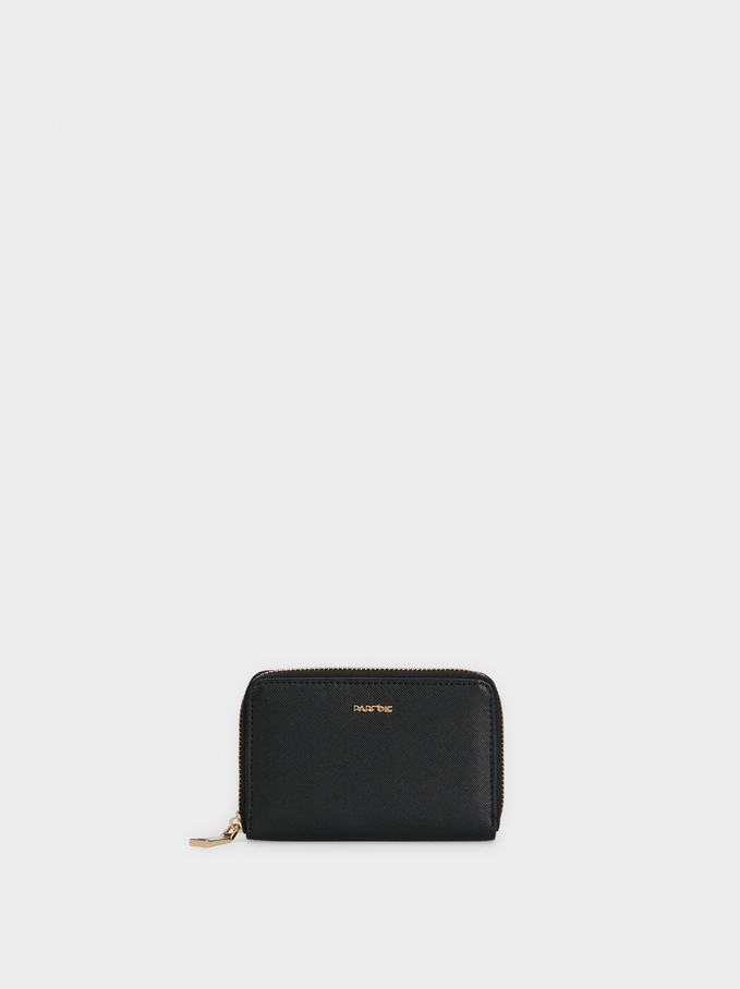 Basic Wallet, Black, hi-res