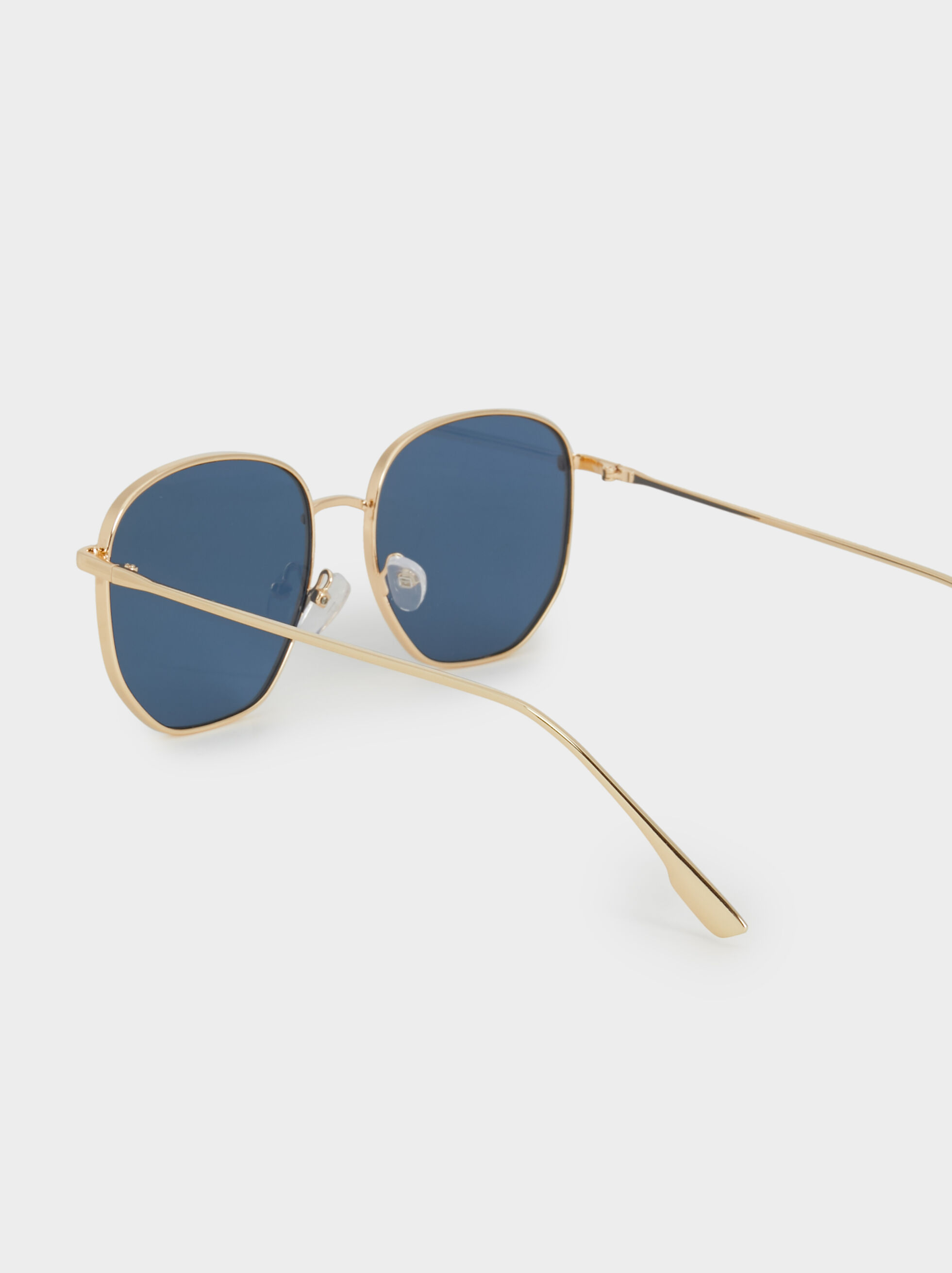 Metal Sunglasses, Golden, hi-res