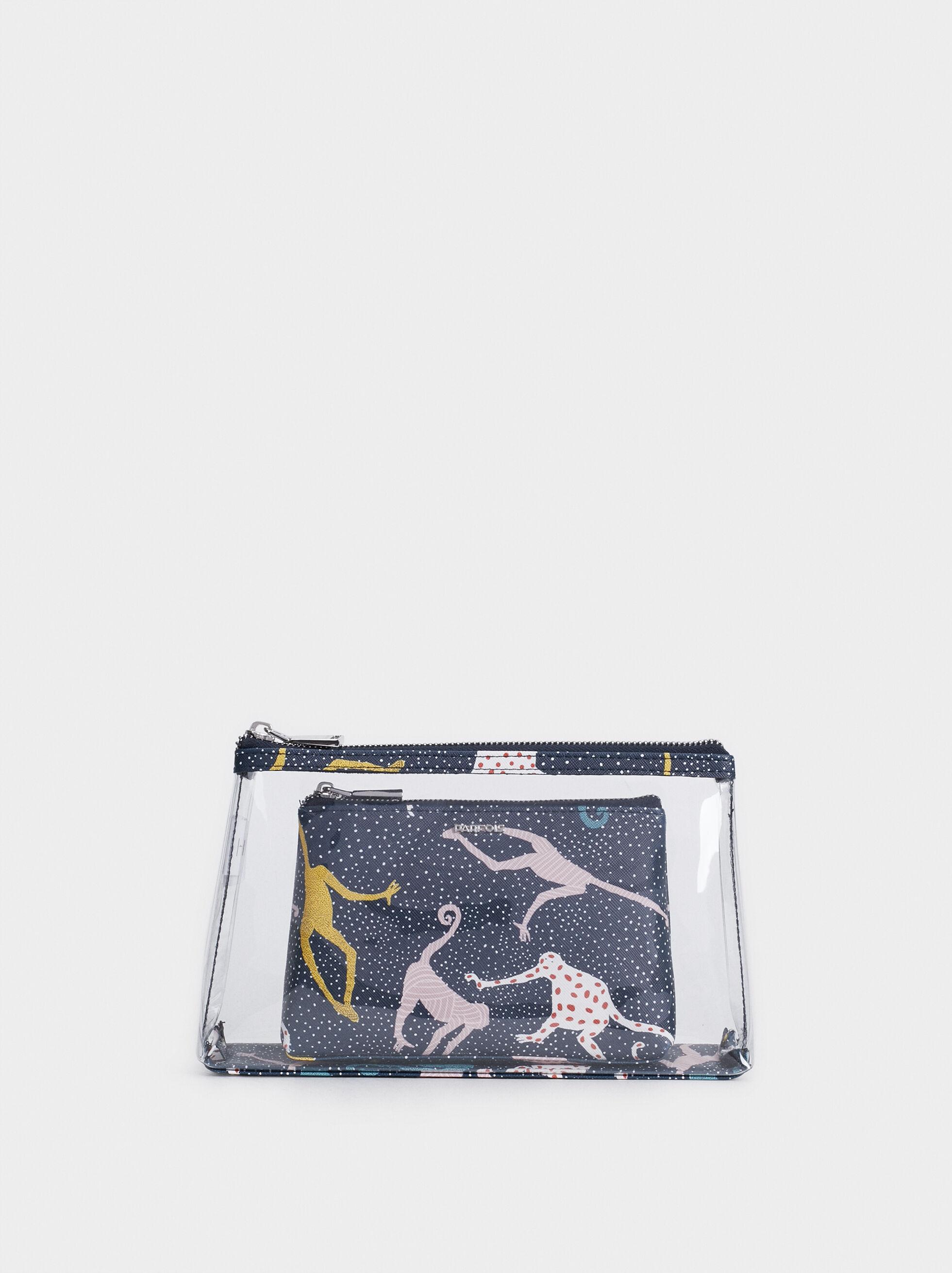 Vinyl Toiletry Bag, , hi-res