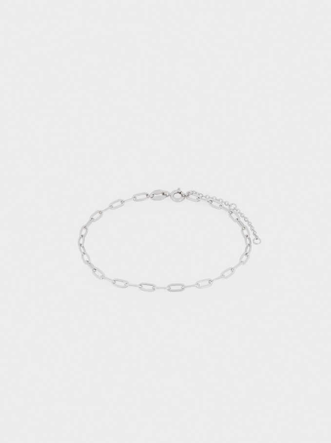 925 Silver Links Bracelet, Silver, hi-res