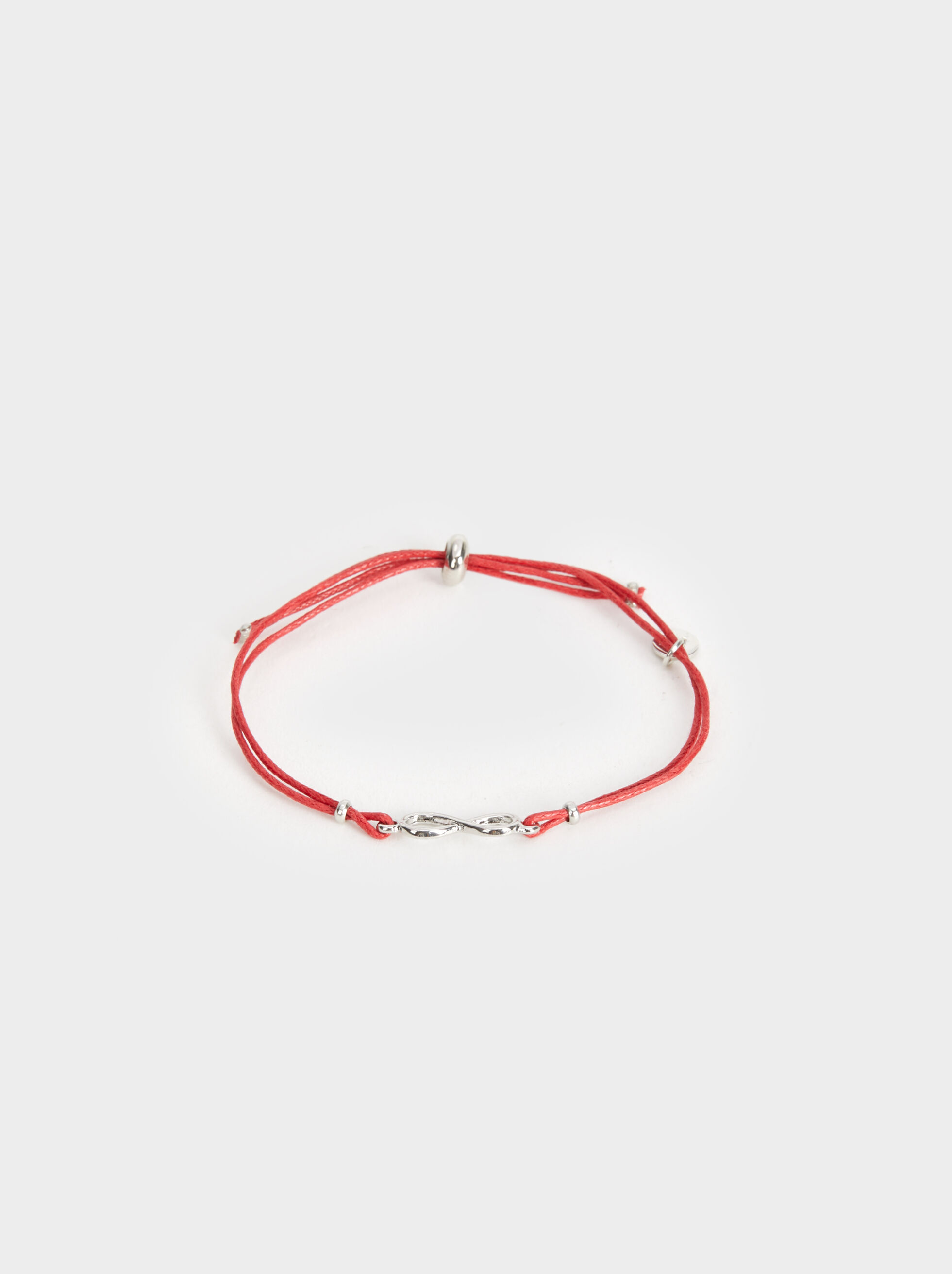 Adjustable Bracelet With Infinity Sign, , hi-res