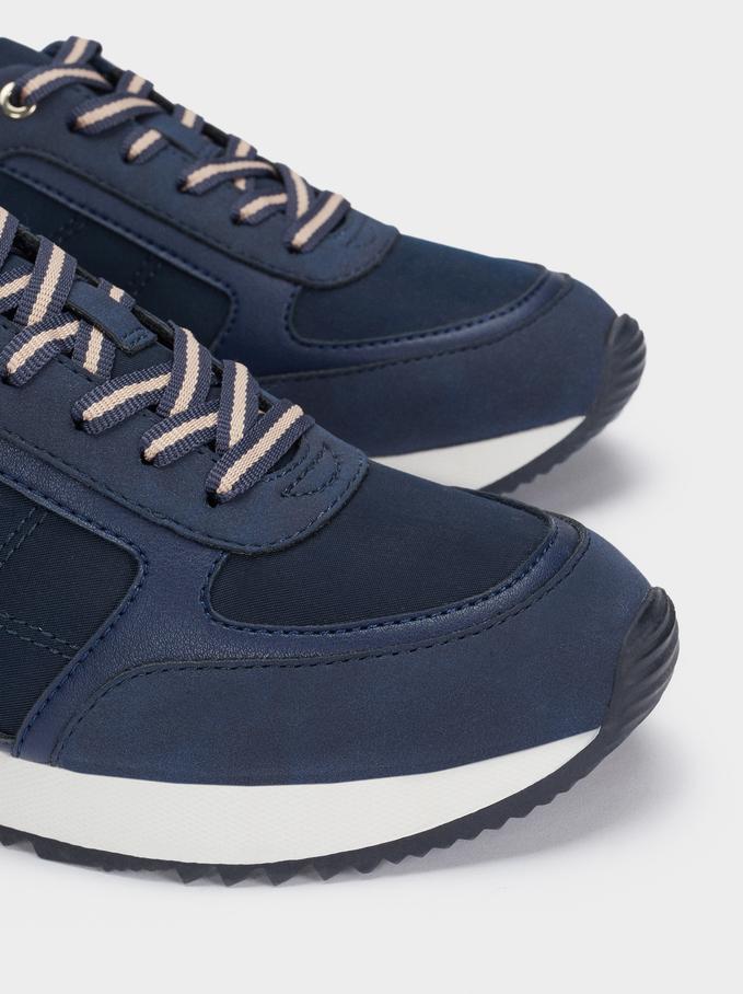 Sneakers Combinate, Azzurri, hi-res