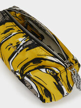 Nylon Pencil Case, Yellow, hi-res