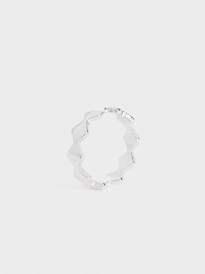 Basic Ring, Silver, hi-res