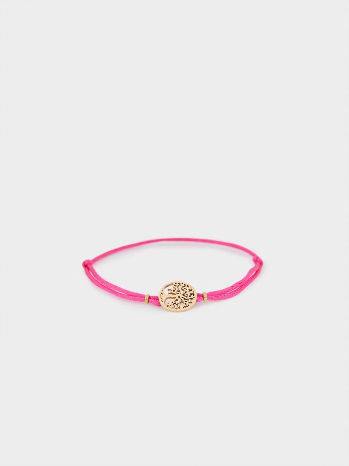 Bracelet Avec Cordon Réglable Arbre, , hi-res