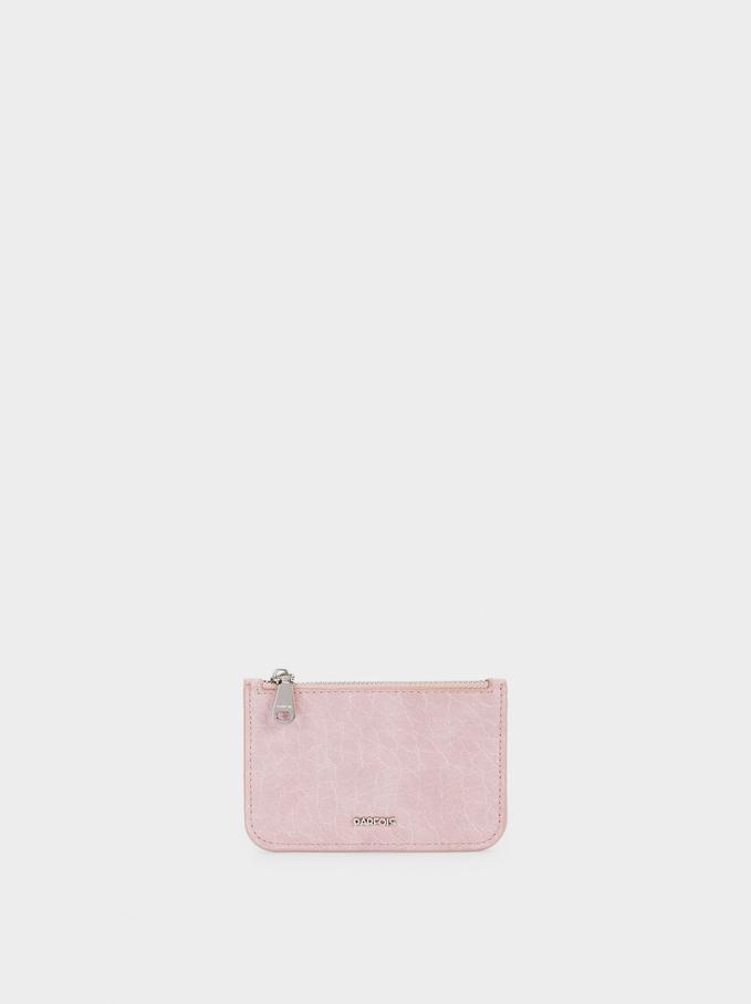 Animal Print Purse, Pink, hi-res