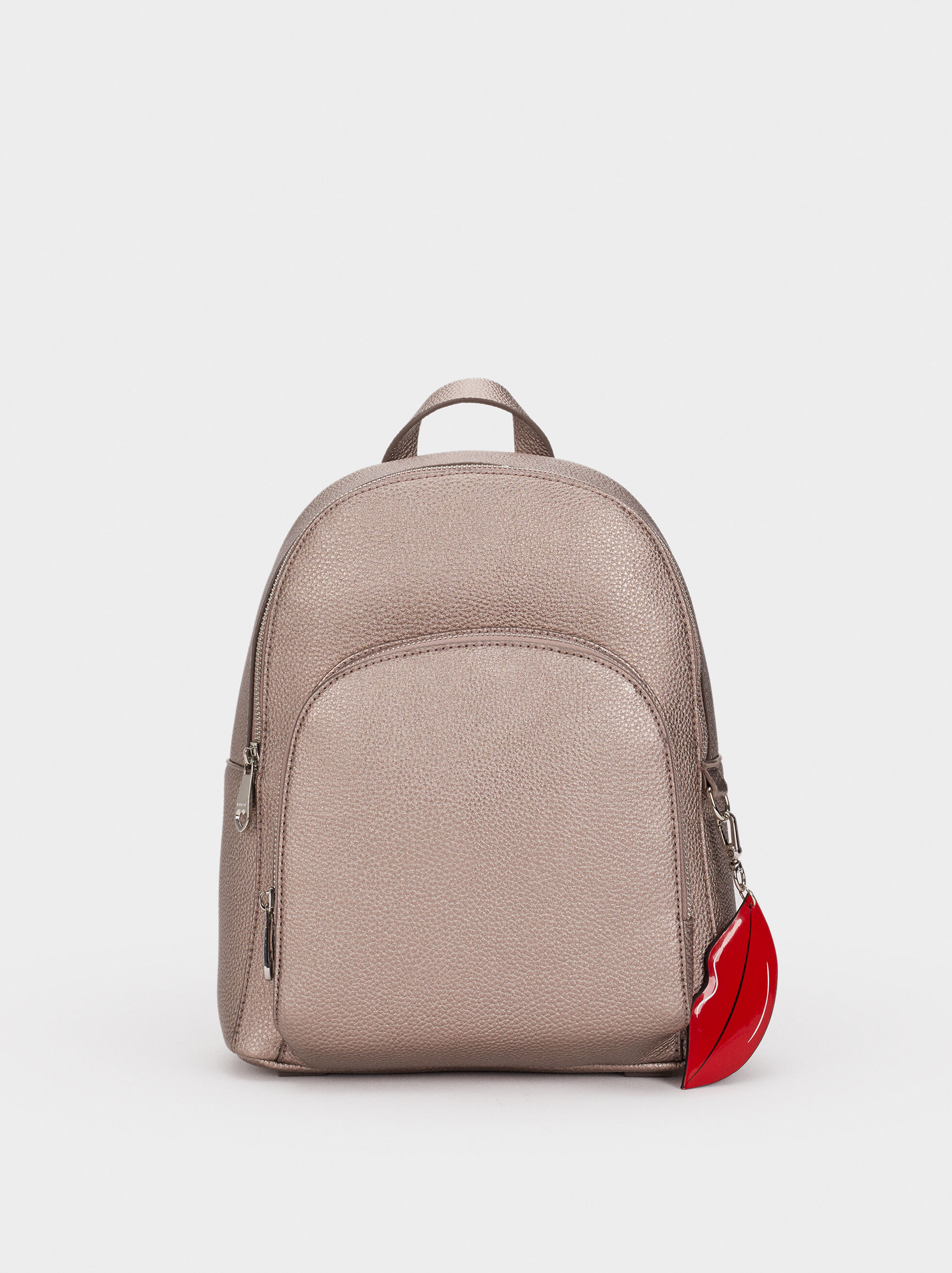 We Are Love Backpack, Silver, hi-res