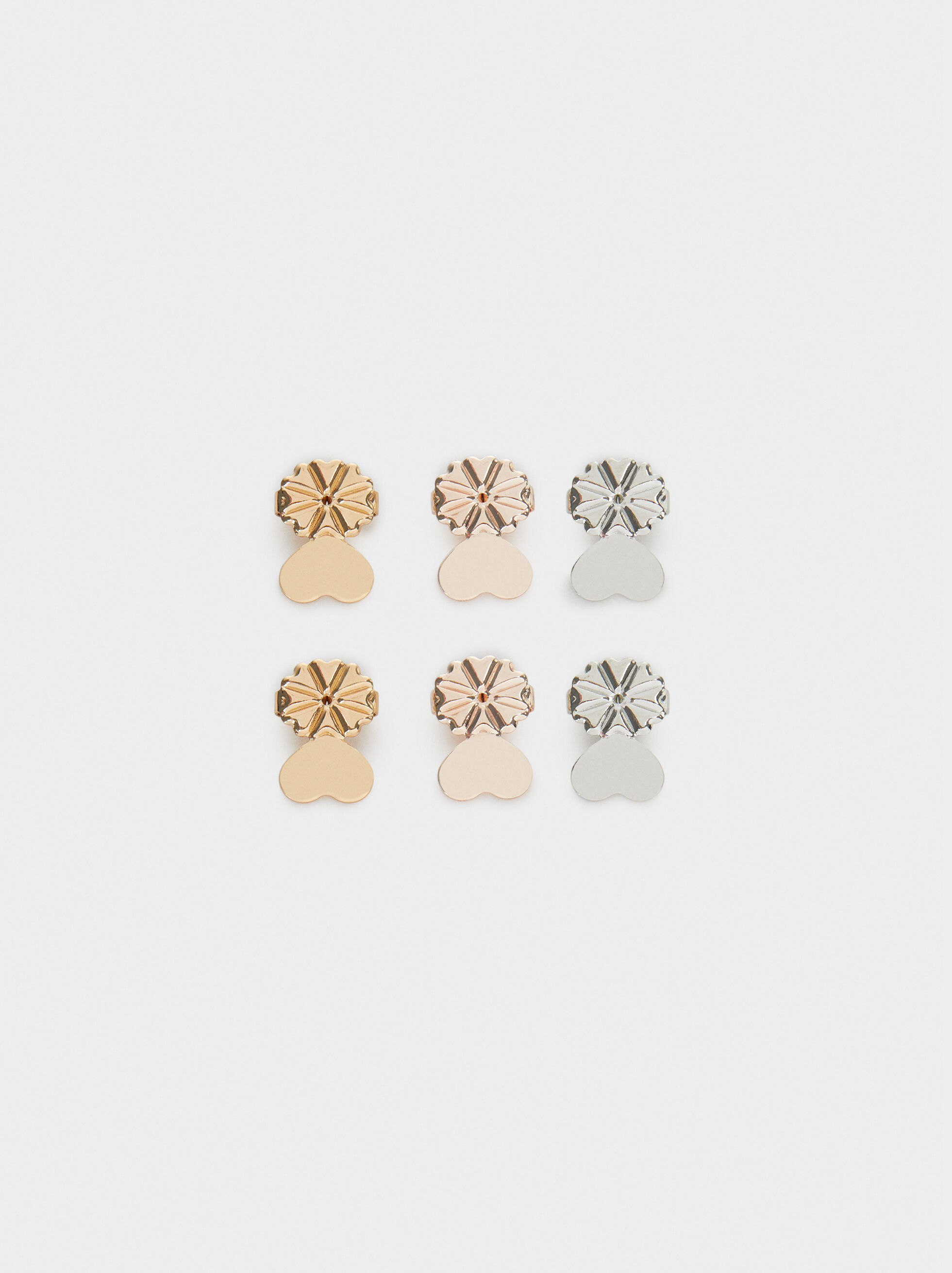 Earring Backs, Multicolor, hi-res