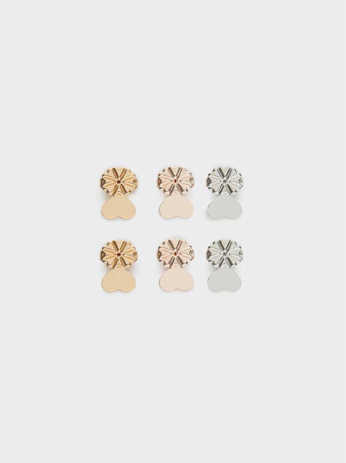 Earring Backs, Multicolor, hi-res