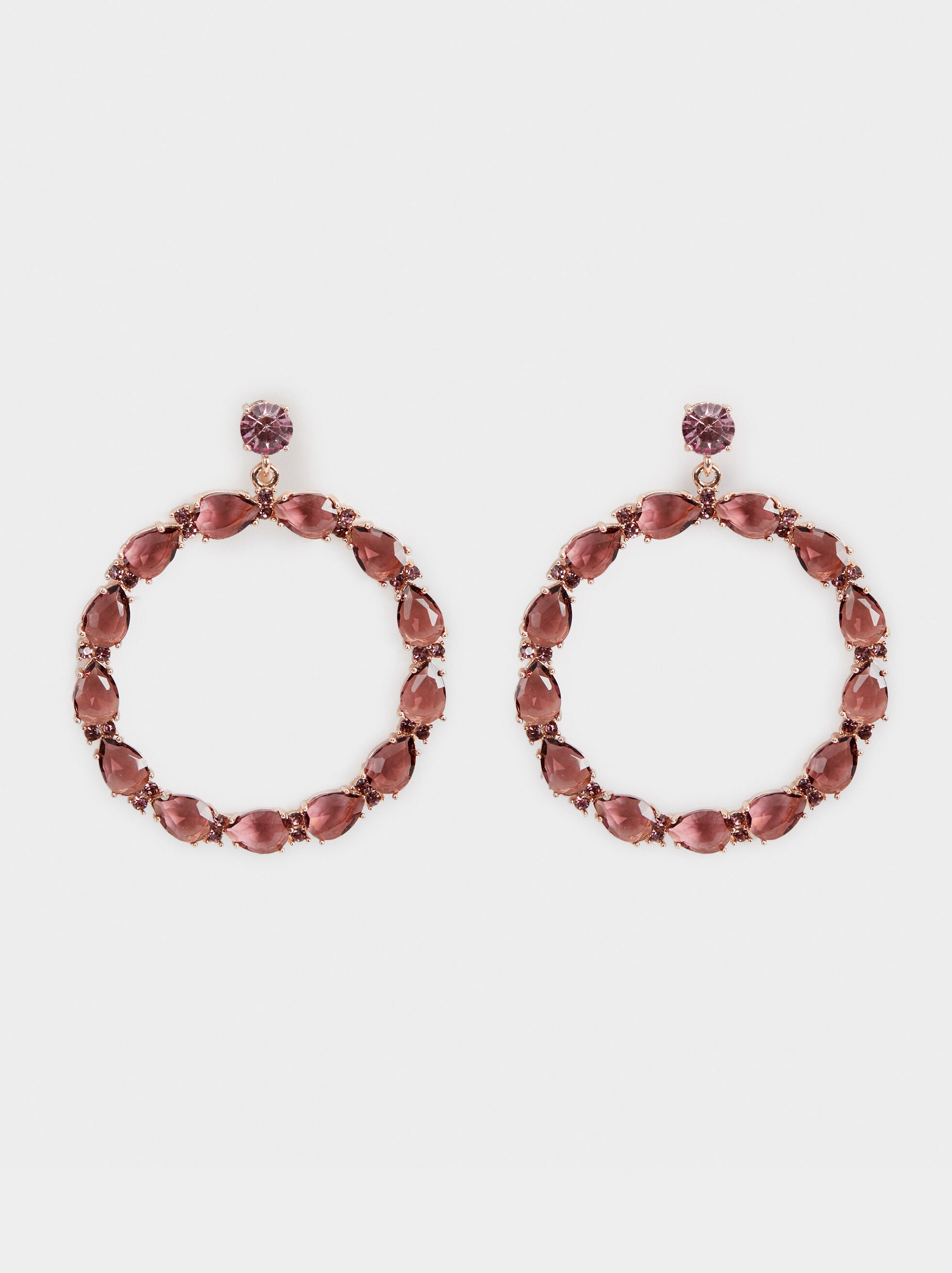Sparkling Dangle Earrings, , hi-res