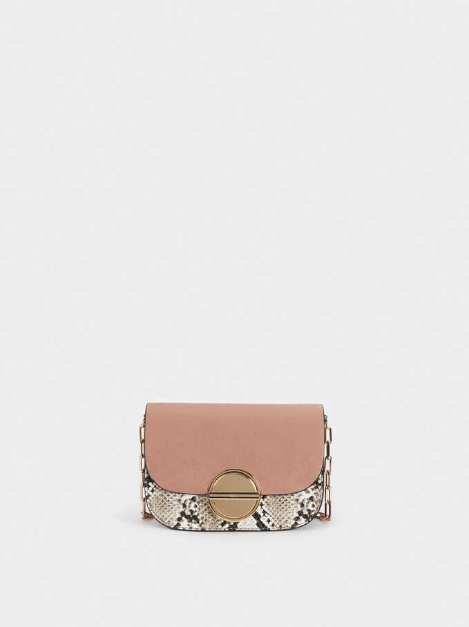 Remix Cross Bag, Pink, hi-res