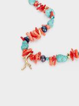 Ras-Du-Cou Recife Avec Perles Fantaisie, Multicolore, hi-res
