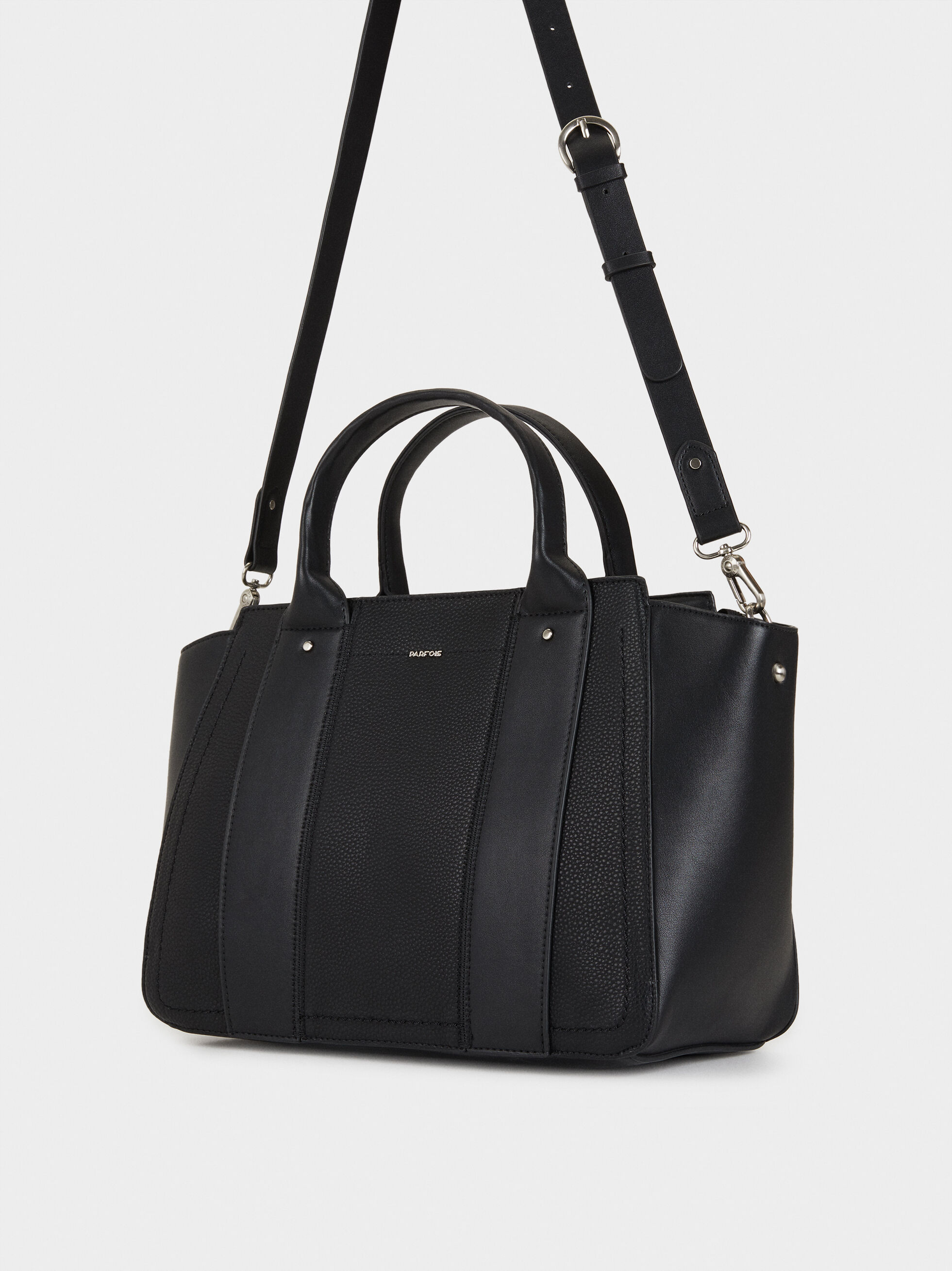 Idra Tote Bag, Black, hi-res