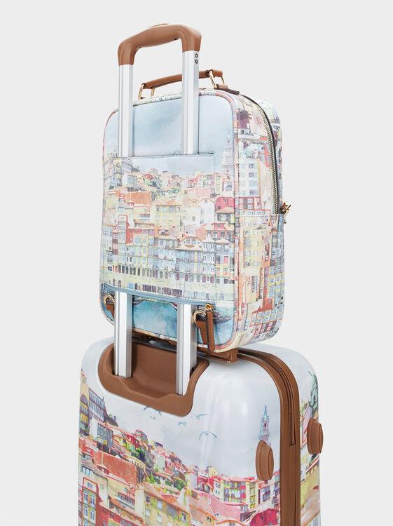 Oporto Travel Trolley, Camel, hi-res