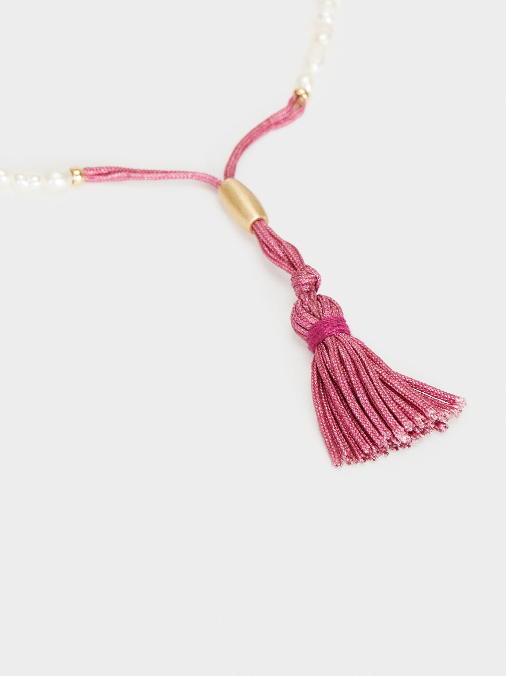 Petrified Adjustable Bracelet, Pink, hi-res