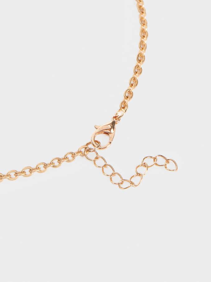 Long Pendant Necklace, Multicolor, hi-res
