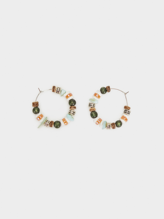 Start Valley Small Hoop Earrings, Multicolor, hi-res