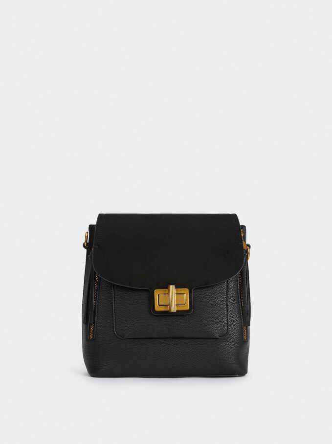 Remix Backpack, Black, hi-res