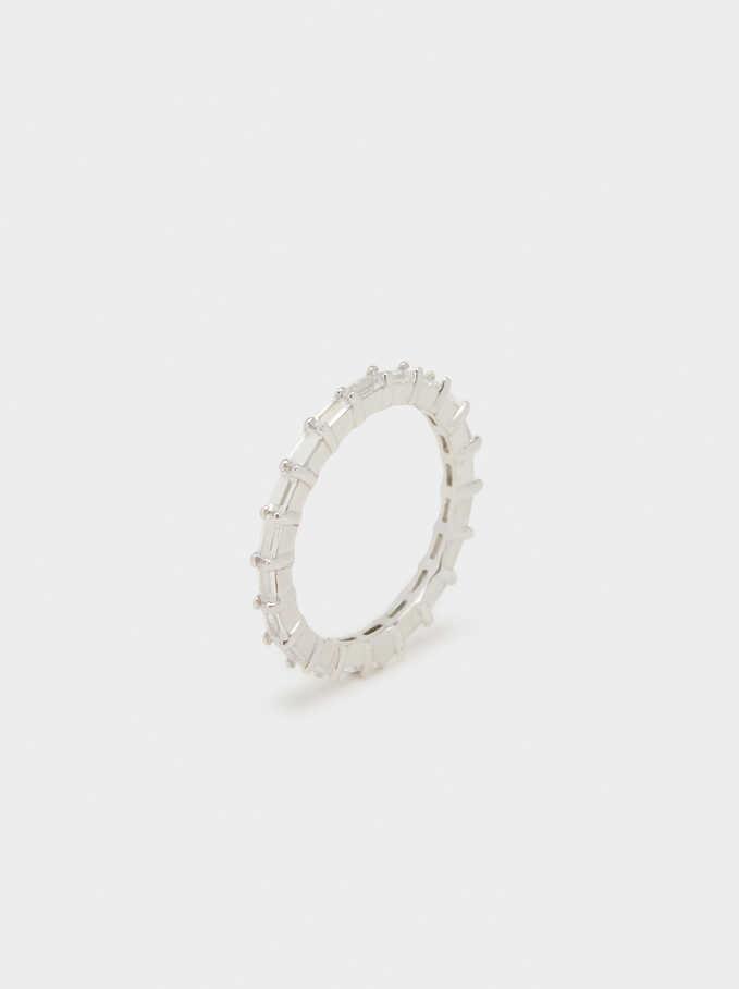 925 Silver Ring , Silver, hi-res