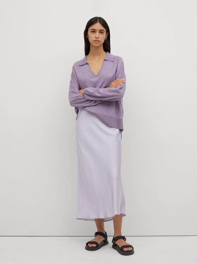 Falda Larga Limited Edition, Violeta, hi-res